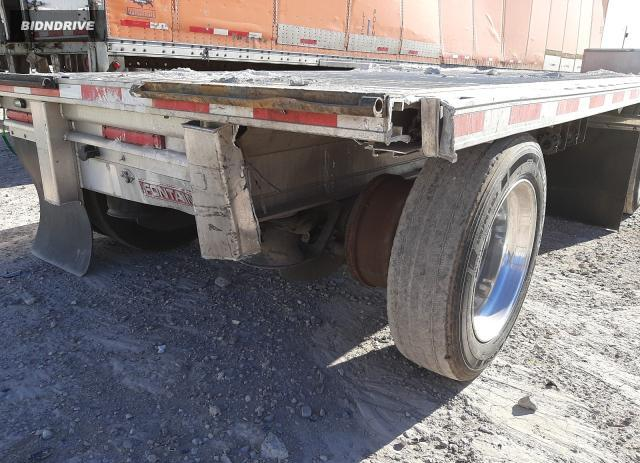 Lot #1598907572 2018 FONTAINE FLATBED TR salvage car