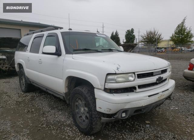 Lot #1599779845 2004 CHEVROLET SUBURBAN K salvage car