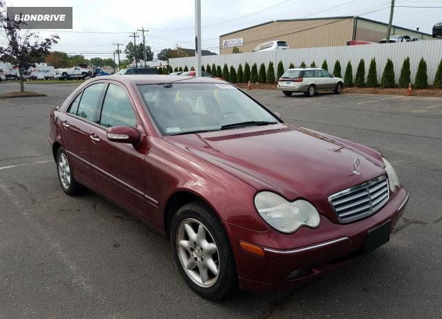 Lot #1600756815 2002 MERCEDES-BENZ C 240 salvage car