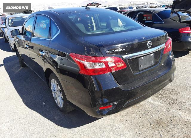 Lot #1602491760 2019 NISSAN SENTRA S salvage car