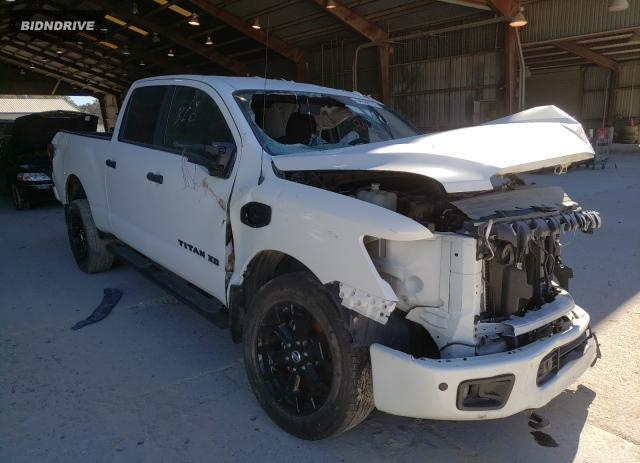 Lot #1602879472 2018 NISSAN TITAN XD S salvage car