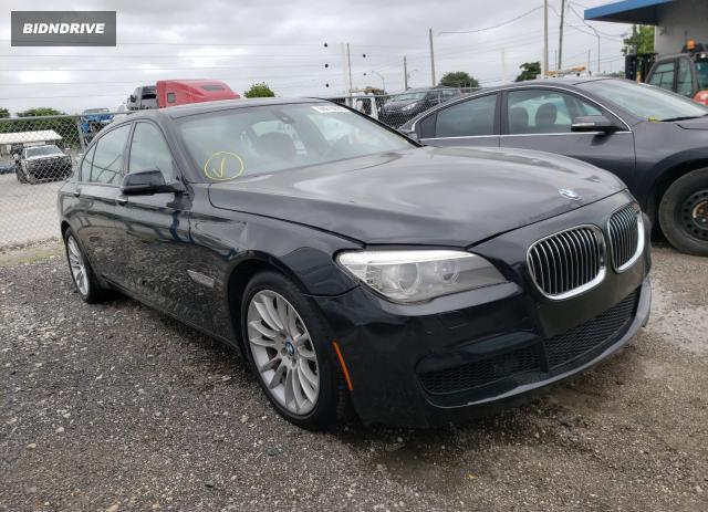 Lot #1603327932 2014 BMW 740 LXI salvage car