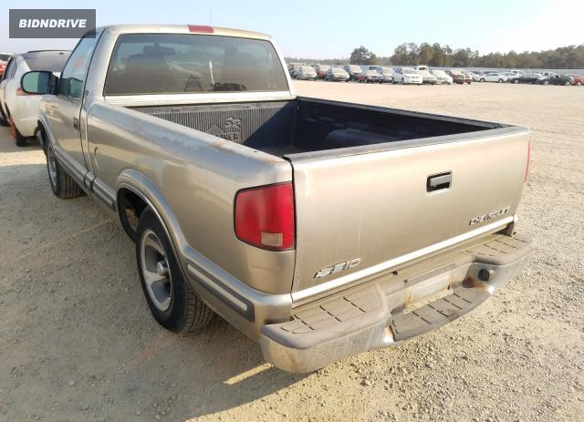 Lot #1603762445 1998 CHEVROLET S TRUCK S1 salvage car