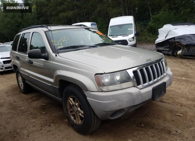 Lot #1606736830 2004 JEEP GRAND CHER salvage car
