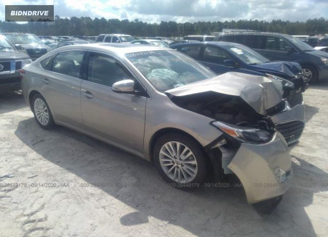 Lot #1607193288 2014 TOYOTA AVALON HYBRID LIMITED/XLE TOURING salvage car