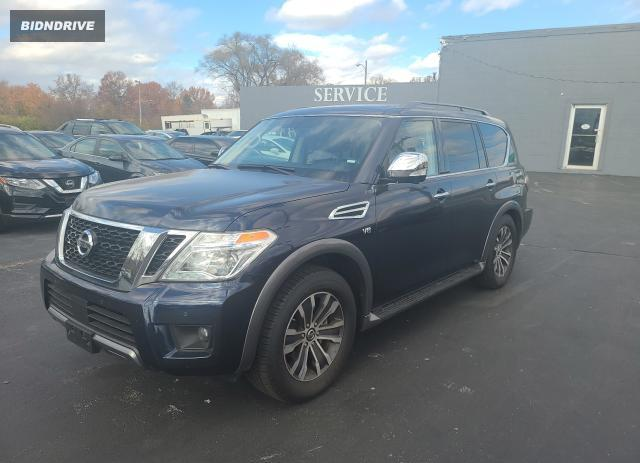 Lot #1607206168 2020 NISSAN ARMADA SV salvage car