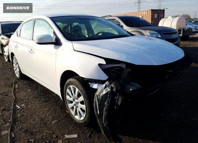 Lot #1607216068 2017 NISSAN SENTRA salvage car