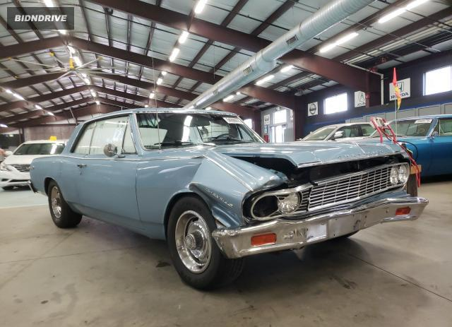Lot #1607372250 1964 CHEVROLET CHEVELL salvage car