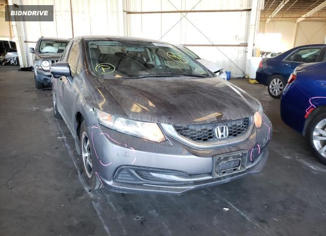 Lot #1607736795 2015 HONDA CIVIC SE salvage car