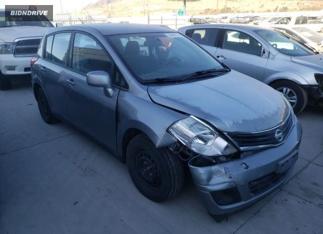 Lot #1607828558 2011 NISSAN VERSA S salvage car