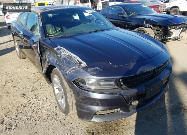 Lot #1608350485 2018 DODGE CHARGER SX salvage car