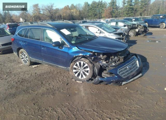 Lot #1609823310 2015 SUBARU OUTBACK 3.6R LIMITED salvage car