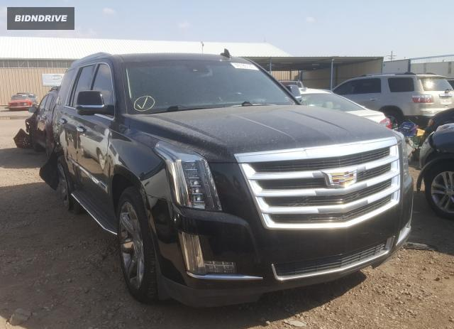 Lot #1609913965 2015 CADILLAC ESCALADE L salvage car
