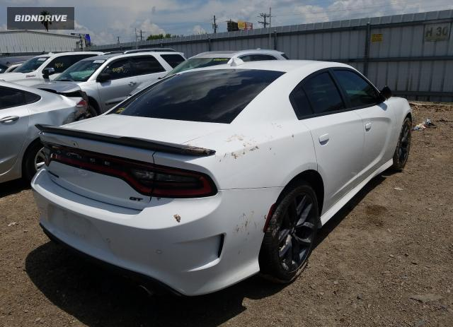 Lot #1609971695 2019 DODGE CHARGER GT salvage car