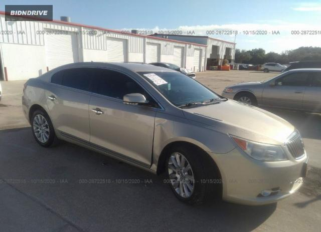 Lot #1610259062 2013 BUICK LACROSSE LEATHER salvage car