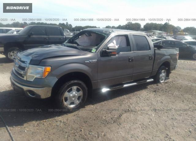 Lot #1610294148 2014 FORD F-150 XL/STX/XLT salvage car
