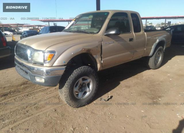 Lot #1610332770 2001 TOYOTA TACOMA PRERUNNER salvage car