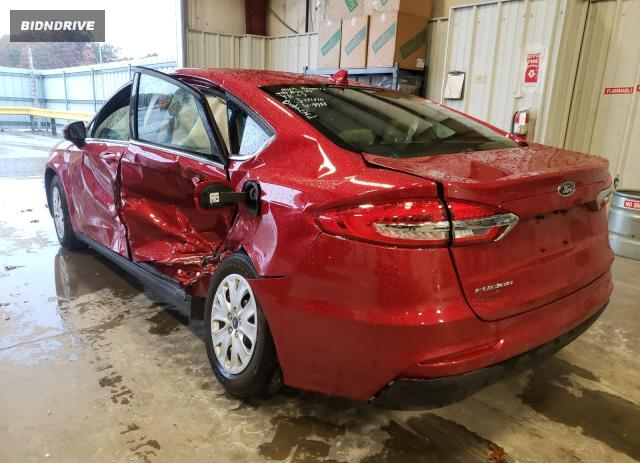 Lot #1610478700 2020 FORD FUSION S salvage car