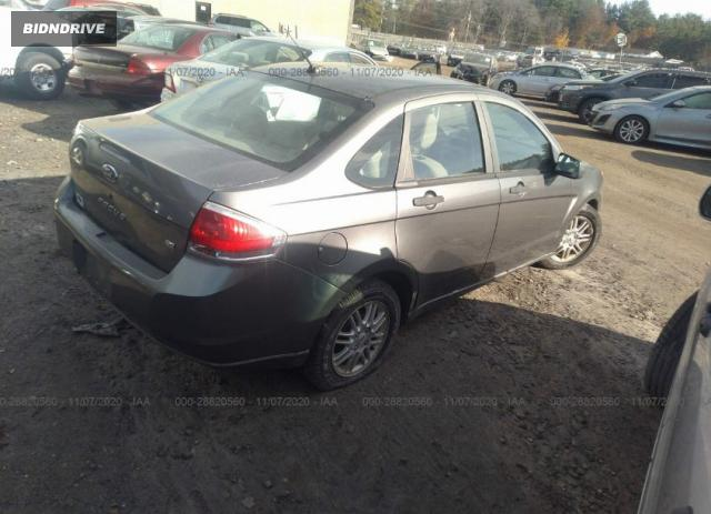 Lot #1610790742 2009 FORD FOCUS SE salvage car