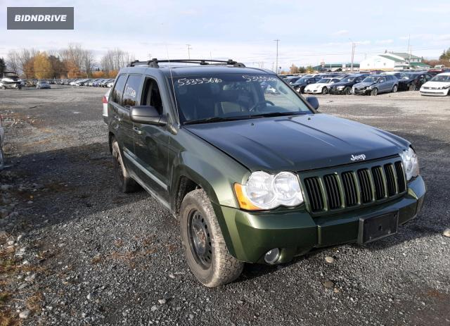 Lot #1610795248 2008 JEEP GRAND CHER salvage car