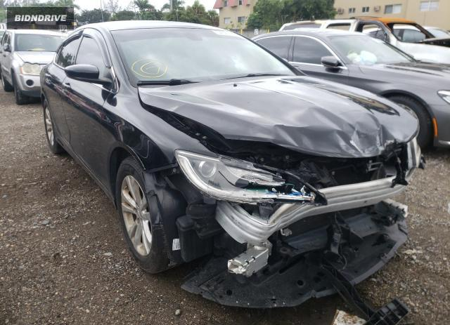 Lot #1610964338 2015 CHRYSLER 200 LIMITE salvage car