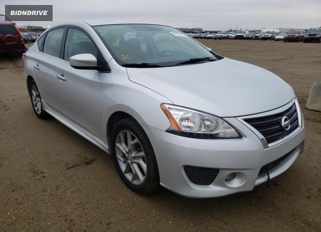 Lot #1611004215 2013 NISSAN SENTRA S salvage car