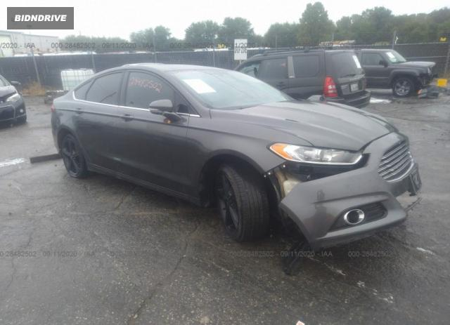 Lot #1611290375 2016 FORD FUSION SE salvage car