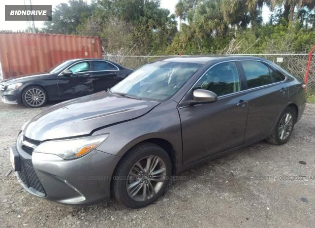 Lot #1611340548 2016 TOYOTA CAMRY XLE/SE/LE/XSE salvage car