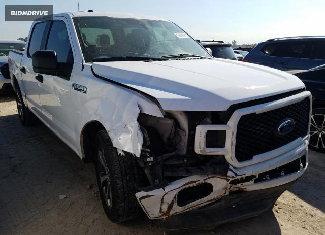 Lot #1611409455 2019 FORD F150 SUPER salvage car