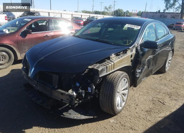 Lot #1611454400 2013 LINCOLN MKS salvage car