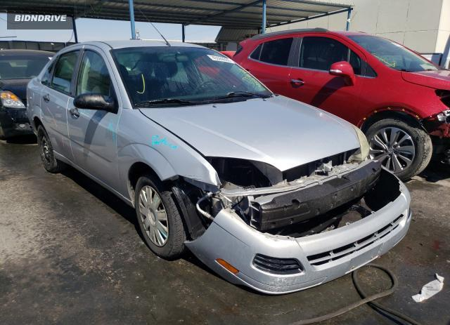 Lot #1611482528 2007 FORD FOCUS ZX4 salvage car