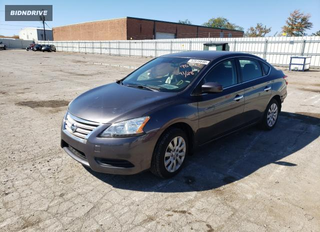 Lot #1611502612 2014 NISSAN SENTRA S salvage car