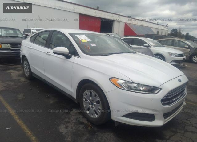 Lot #1611814935 2013 FORD FUSION S salvage car