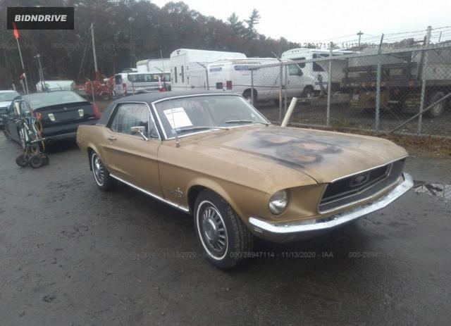 Lot #1611815802 1968 FORD MUSTANG salvage car