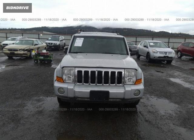 Lot #1611833728 2007 JEEP COMMANDER LIMITED salvage car