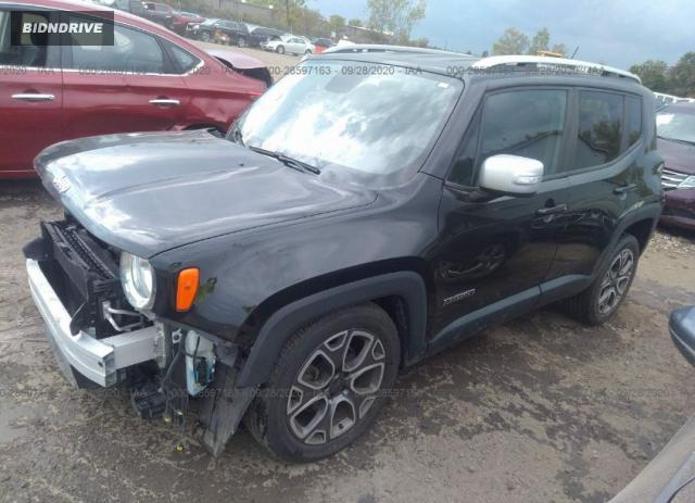 Lot #1611834858 2015 JEEP RENEGADE LIMITED salvage car