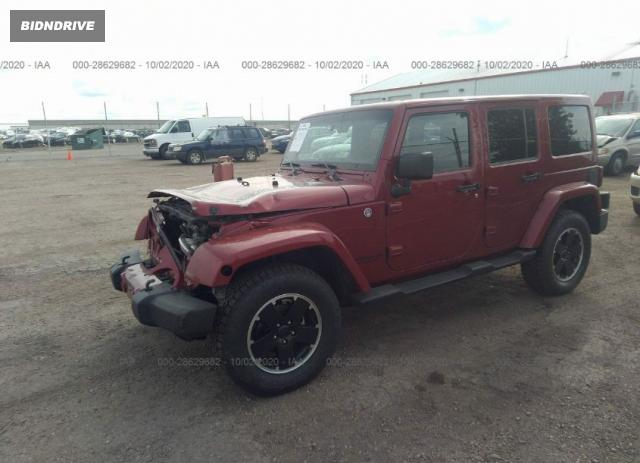 Lot #1611835118 2012 JEEP WRANGLER UNLIMITED ALTITUDE salvage car