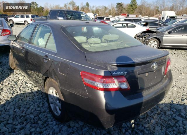 Lot #1611902012 2011 TOYOTA CAMRY BASE salvage car