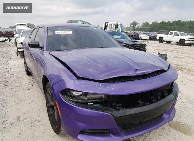 Lot #1611952592 2019 DODGE CHARGER SX salvage car