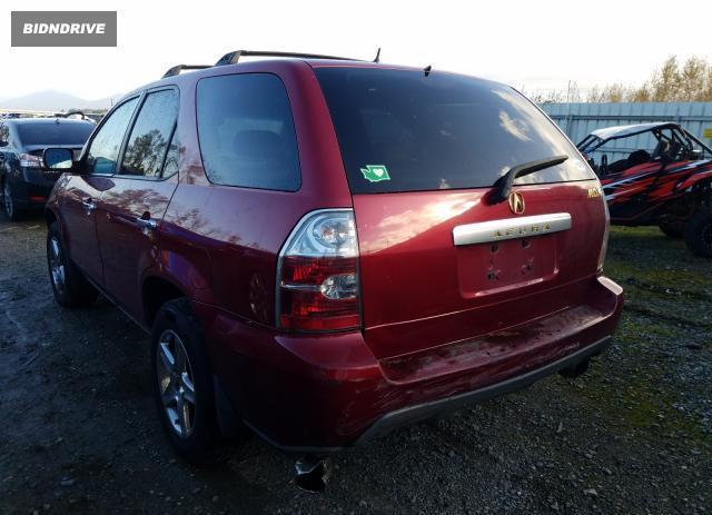 Lot #1612051695 2005 ACURA MDX TOURIN salvage car