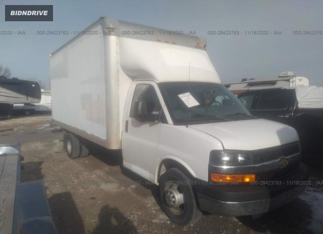 Lot #1612275845 2016 CHEVROLET EXPRESS COMMERCIAL salvage car