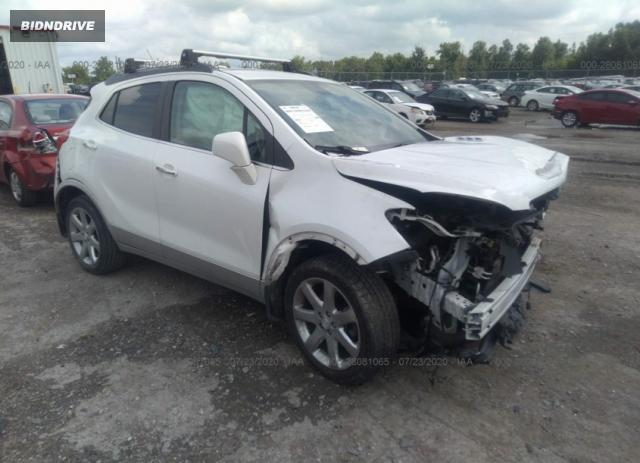 Lot #1613883402 2013 BUICK ENCORE LEATHER salvage car