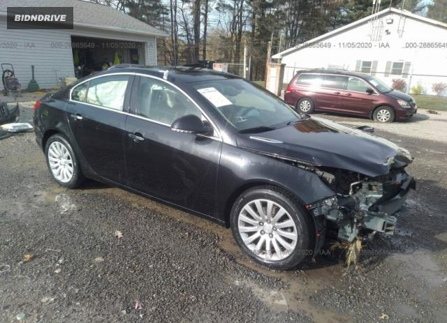 Lot #1613883788 2012 BUICK REGAL TURBO PREMIUM 1 salvage car