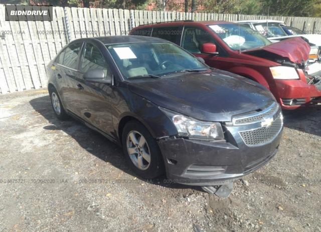 Lot #1613886108 2014 CHEVROLET CRUZE 1LT salvage car