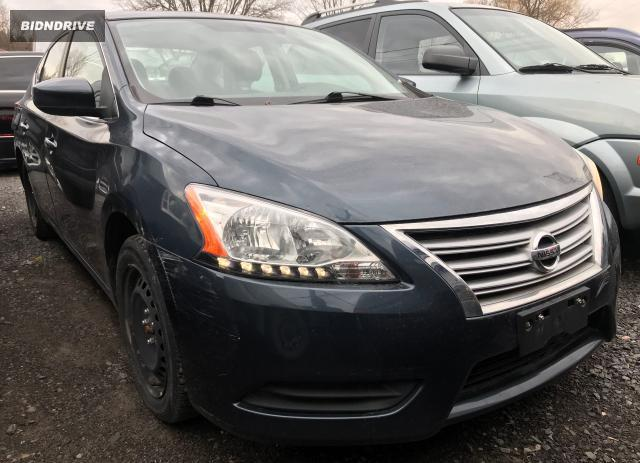 Lot #1614066702 2013 NISSAN SENTRA S salvage car