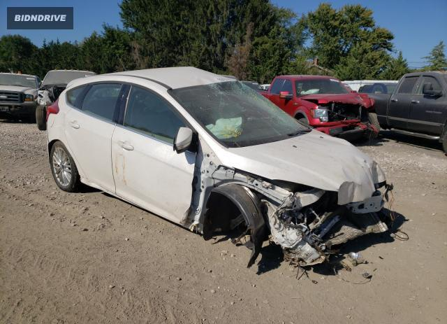 Lot #1614498115 2012 FORD FOCUS SEL salvage car