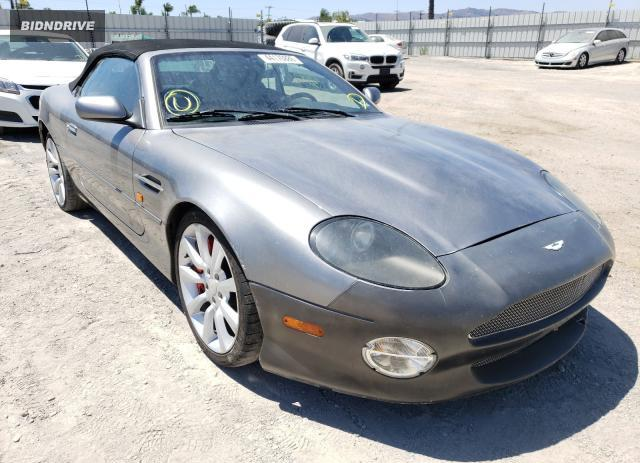 Lot #1614538782 2002 ASTON MARTIN DB7 VANTAG salvage car