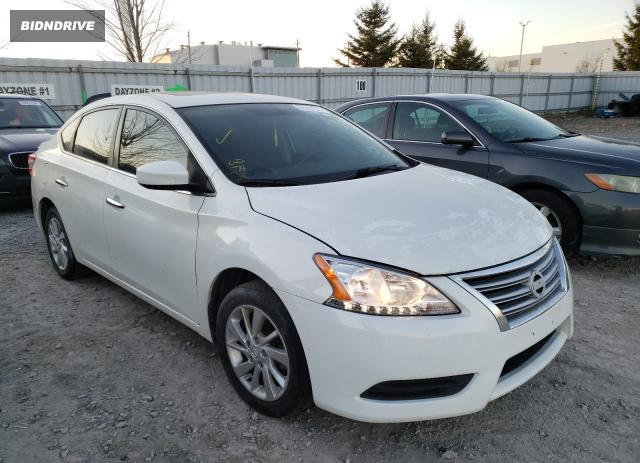 Lot #1614637192 2013 NISSAN SENTRA S salvage car