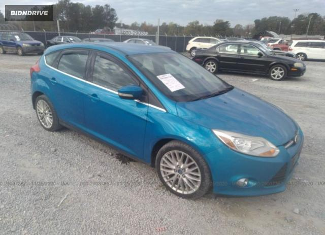 Lot #1614974655 2012 FORD FOCUS SEL salvage car