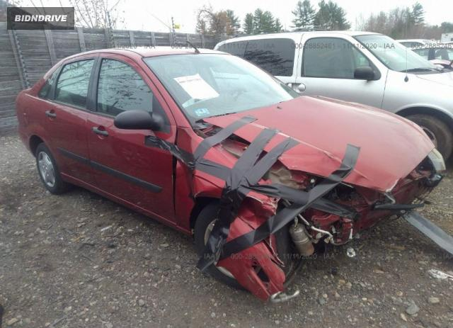Lot #1614974920 2004 FORD FOCUS LX salvage car